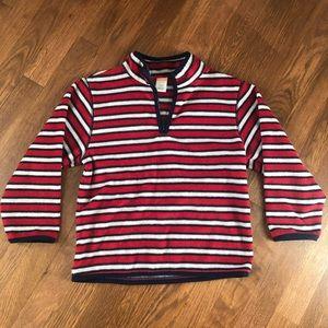Red, White & Blue Boy's Gymboree Fleece Pullover